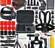 kit accessoires gopro hero camera action 4k