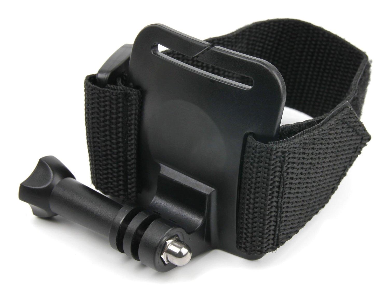 sangle de poignet bracelet de fixation avec adaptateur pour camera embarqu e prix avis et. Black Bedroom Furniture Sets. Home Design Ideas