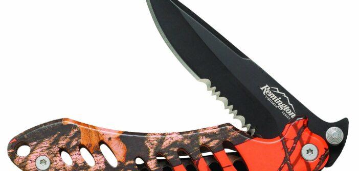 Couteau de chasse à lame fixe et refermable